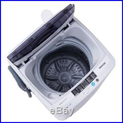 1.6 Cu. Ft Portable Compact Laundry Washing Machine Spin Washer Drain Pump Pipe