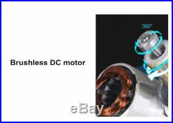 220V 100W Automatic Home Shower Washing Machine Water Booster Pump Stainless NEW