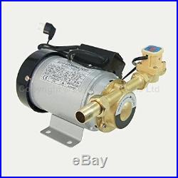 Automatic Booster Pump For Hot Cold Water Shower Washing Machine Garden 260W
