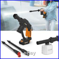 Car Washing Machine Cleaning Rechargeable Water Pump Portable Washer Device 8M