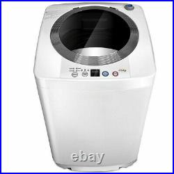 Costway Full-Automatic Laundry Wash Machine With Drain Pump 2 in 1 Washer/Spinner
