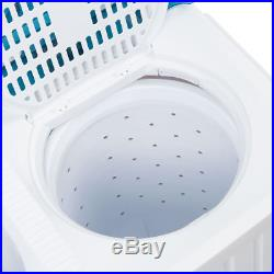 Electric Washing Machine with Spin Dryer van camping tiny House with DRAIN PUMP
