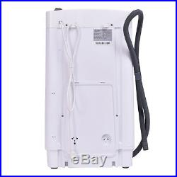 Full-Automatic Laundry Wash Machine 7.7Lb Washer/Spinner WithDrain Pump