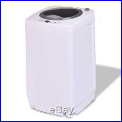 Full-Automatic Laundry Washing Machine Portable 7.7Lb Washer/Spinner Drain Pump