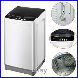 Full-automatic Washing Machine Laundry Washer Spin with Drain Pump + 10 Programs
