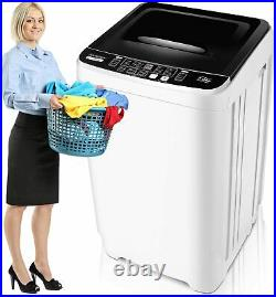 Fully/Semi-automatic Compact Portable Washing Machine with Drain Pump Spiner Dryer