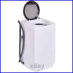 Portable Compact Full-Automatic Laundry 1.6 Cu. Ft. Washing Machine 8 Lbs Pump