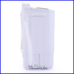 Portable Compact Twin Washing Machine Washer Spin & Dry Cycle with DRAIN PUMP