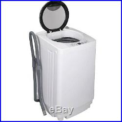 SUPER DEAL PRO Portable Full-Automatic Washing Machine withDrain Pump and L. New