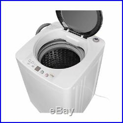 SUPER DEAL PRO Portable Full-Automatic Washing Machine withDrain Pump and Long