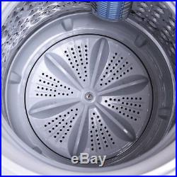 Wash Machine Full-Automatic Laundry 7.7Lb Washer/Spinner WithDrain Pump New
